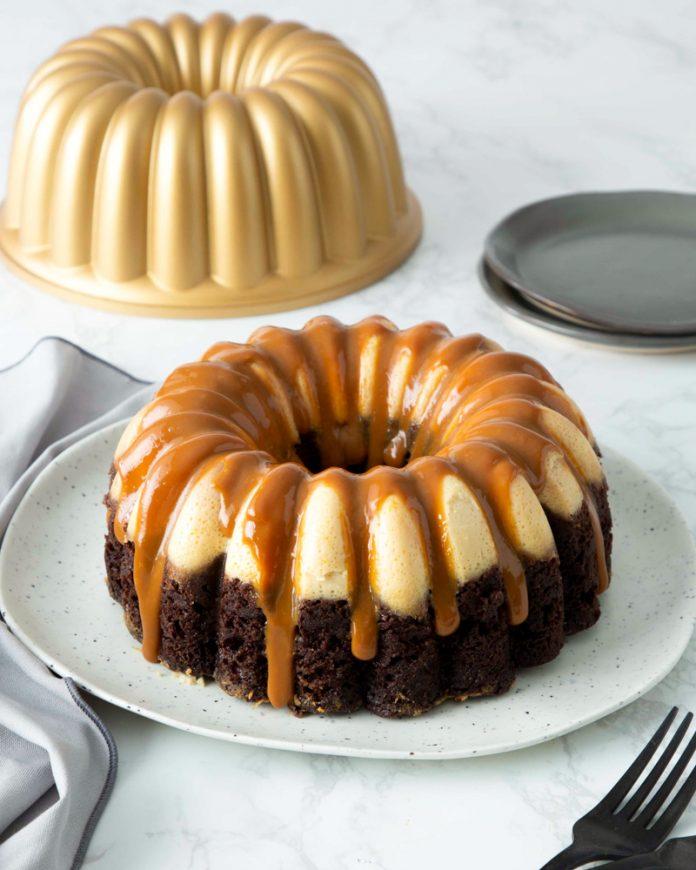 Chocoflan Bundt Cake