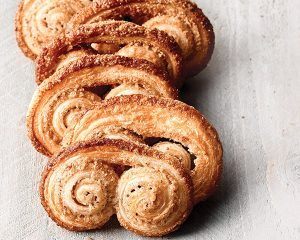 Palmiers with Vanilla Bean, Pecan, and Cardamom