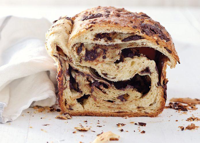 Brioche au Chocolat Loaf - Bake from Scratch