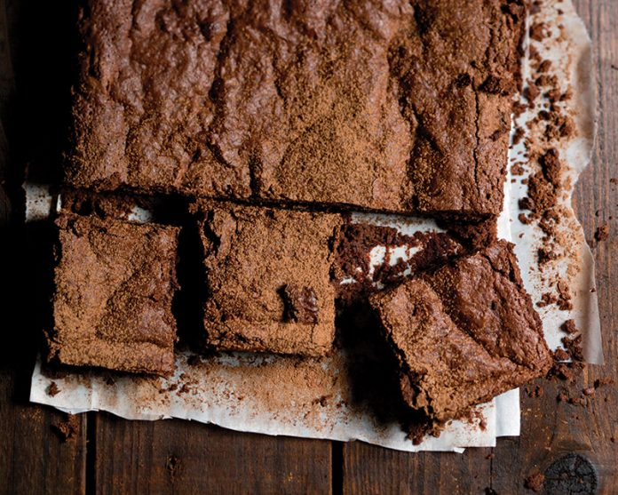 One-Pound Chocolate Brownies