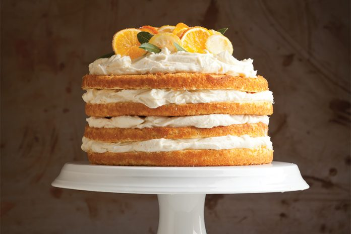 Citrus Cake Bake from Scratch
