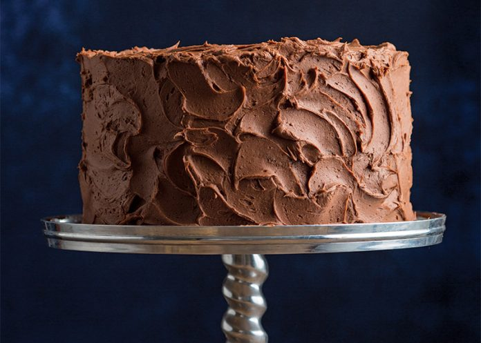 Devil S Food Cake With Chocolate Buttermilk Frosting