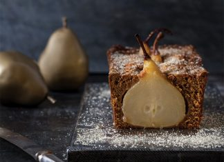 Gingerbread Pear Loaves