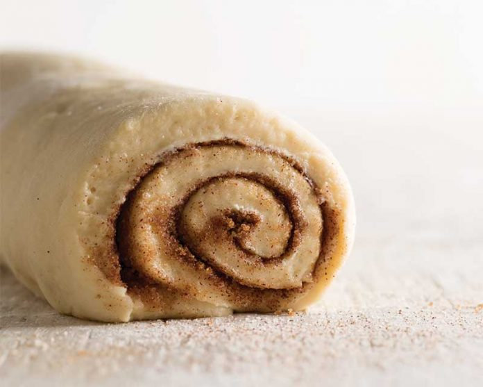 Cinnamon Roll Dough - Jan/Feb Bake from Scratch 2017