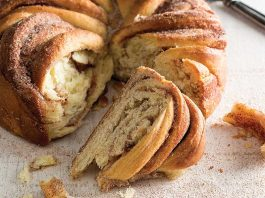 Cinnamon Twist Giant Roll - Jan/Feb Bake from Scratch 2017