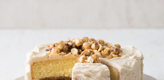 Date Caramel Cake