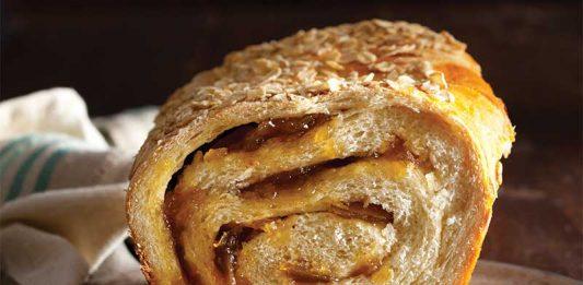 Honey Pear Swirl Bread - Jan/Feb Bake from Scratch 2017