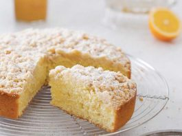 Meyer Lemon-Olive Oil Coffee Cake