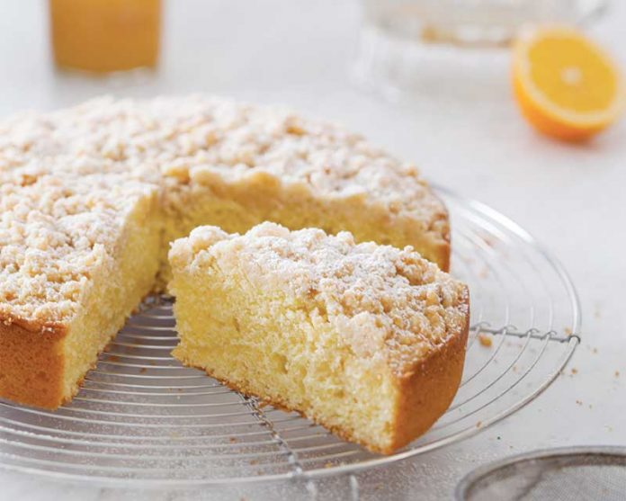 Meyer Lemon Olive Oil Coffee Cake