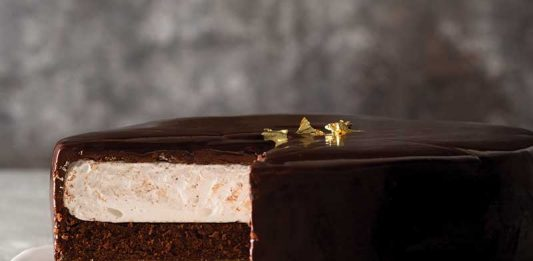 Sacher S'mores Torte - Jan/Feb Bake from Scratch 2017
