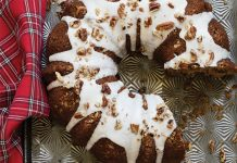 Baking with Cinnamon | Spiced Coconut Oil Cake with Bourbon Glaze