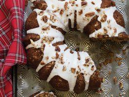 Baking with Cinnamon   Spiced Coconut Oil Cake with Bourbon Glaze