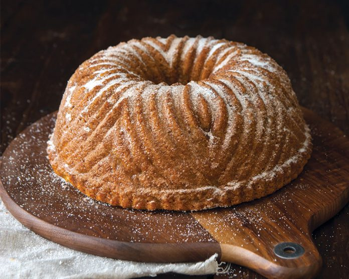 cinnamon sugar doughnut bundt cake bake from scratch