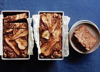 Saison Pear-Date Cake