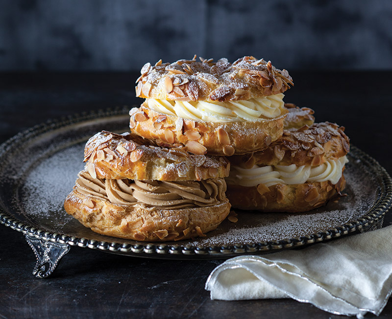 paris brest bake from scratch. Black Bedroom Furniture Sets. Home Design Ideas