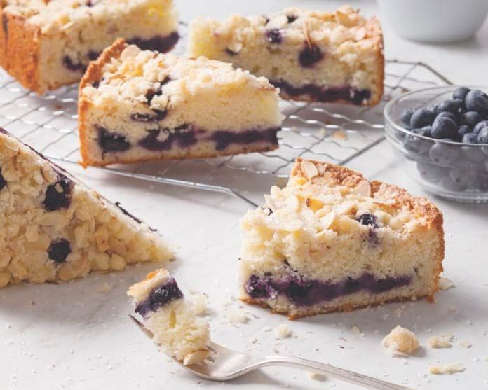 Almond-Blueberry Coffee Cake