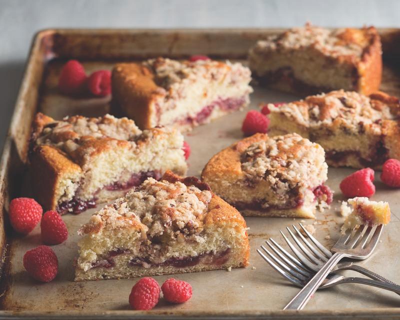 Raspberry Buttermilk Coffee Cake