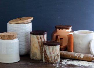 Sleek Canisters and Stylish Storage