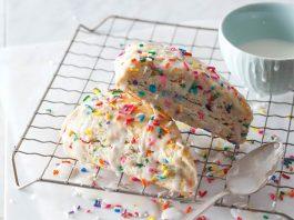 Birthday Cake Scones