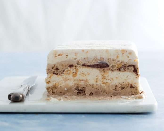 Layered Meringue Terrine