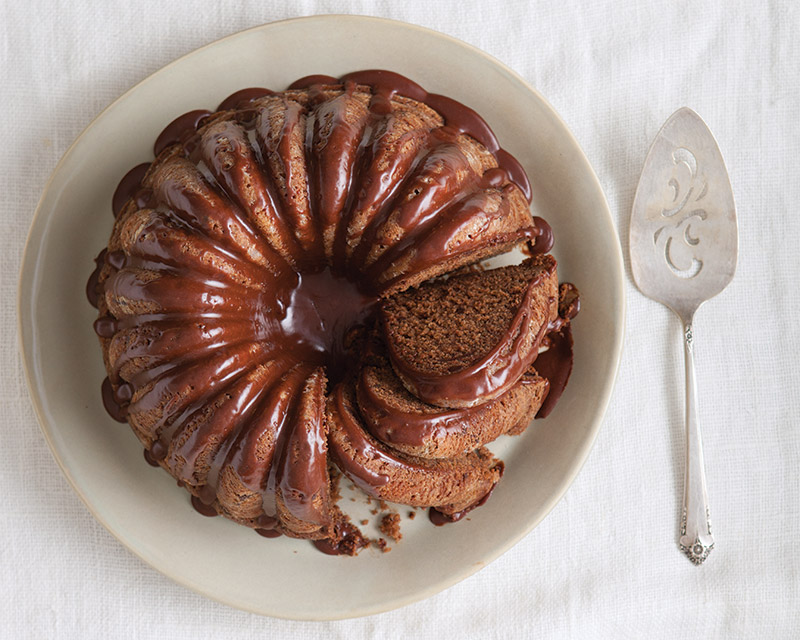 Double Chocolate Spice Bundt Cake