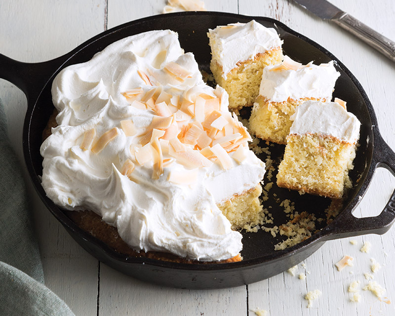 Coconut Skillet Cake Bake From Scratch