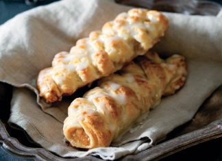 Apple Danish Braids