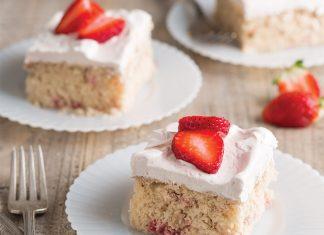 Strawberry Sheet Cake