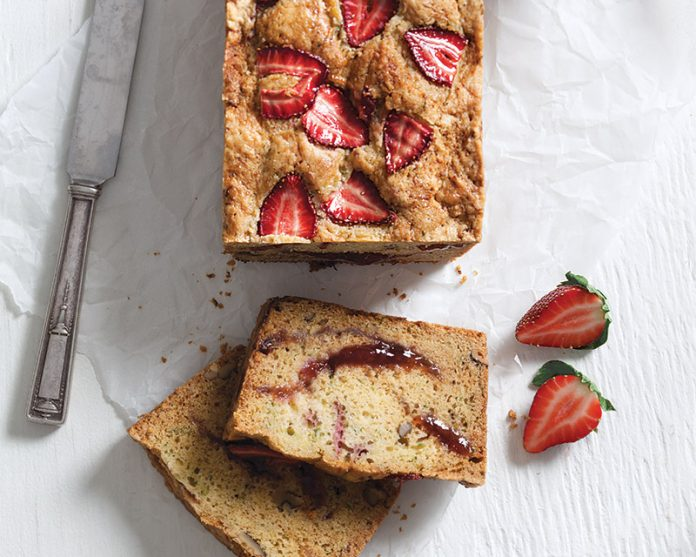 Strawberry Cucumber Bread