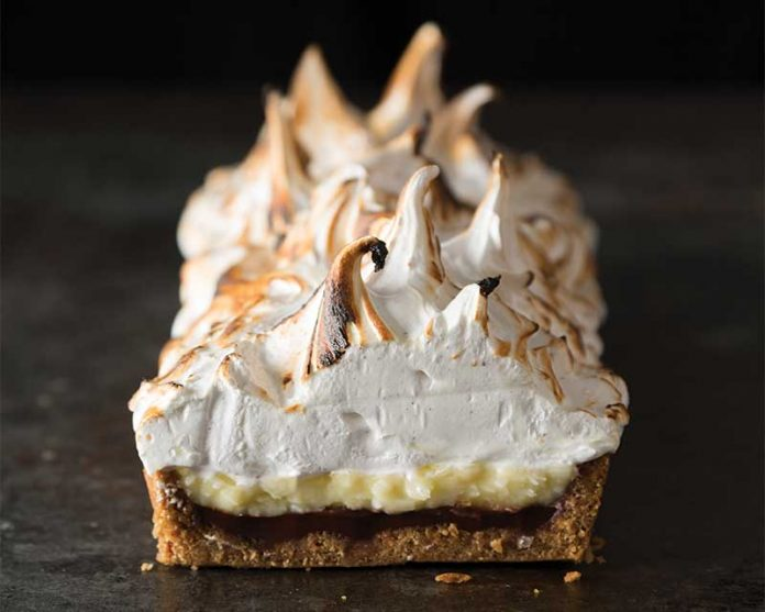 Black Bottom Coconut Cream Tart