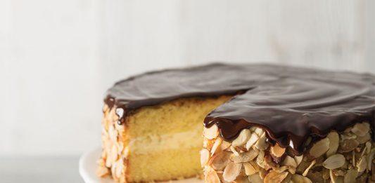 Amaretto Boston Cream Pie