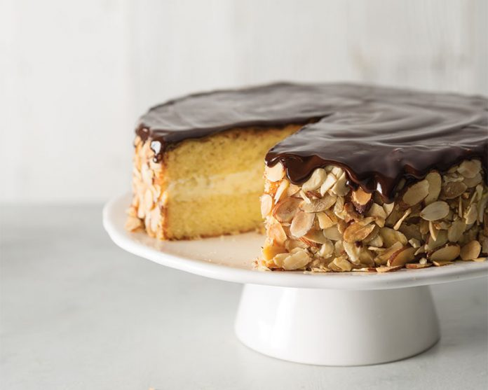 Amaretto Boston Cream Pie