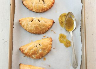 Spicy Green Tomato Hand Pies
