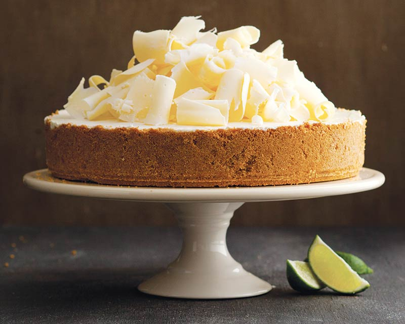Frozen Key Lime White Chocolate Mousse Cake Bake From