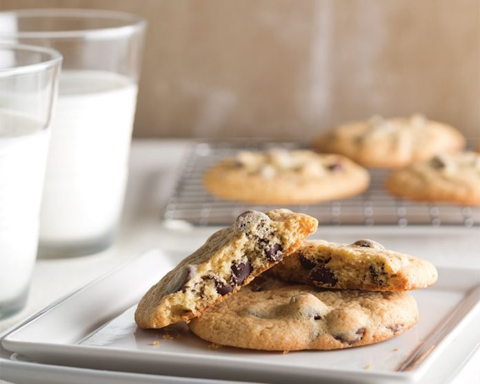 Cake Batter Chocolate Chip Cookies From Scratch
