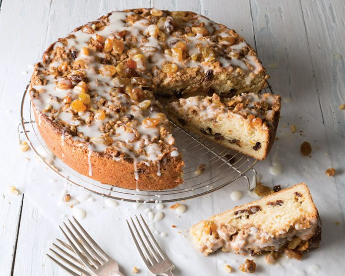 Rum Raisin Coffee Cake