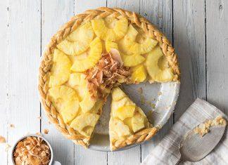 Pineapple & Coconut Pie
