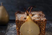 Gingerbread Pear Loaf