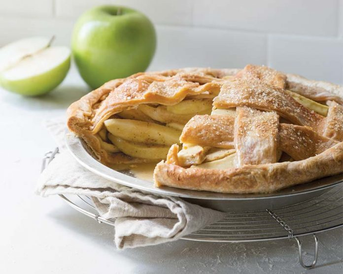 Apple Cheddar Pie