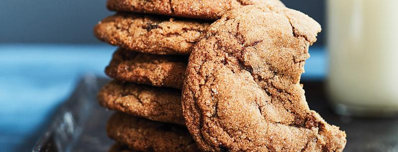 Five-Spice Molasses Cookies
