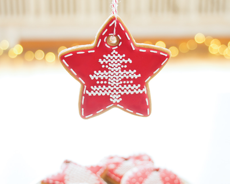 Embroidered Cookie Ornaments
