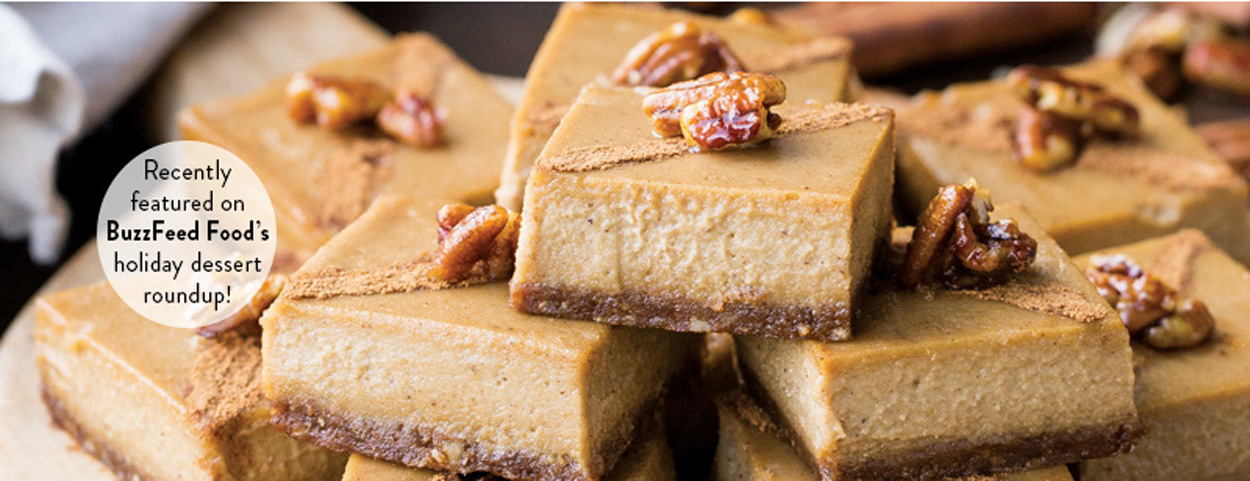 Gingerbread Cheesecake Bars - Bake from Scratch