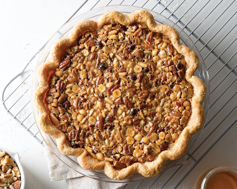 Honey Nut Pie