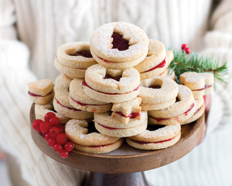 Spitzbuben (Linzer) Cookies