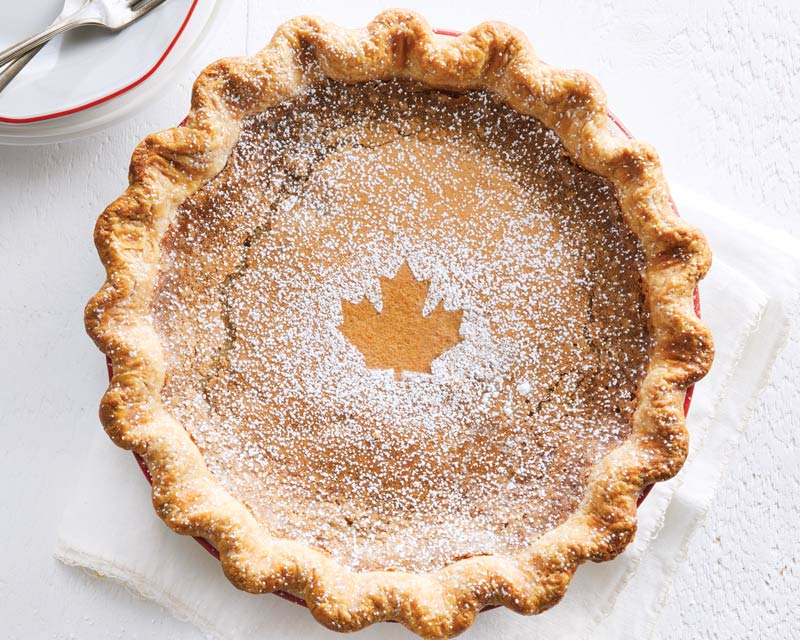 Canadian Sugar Pie