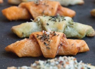 Harissa and Goat Cheese Rugelach