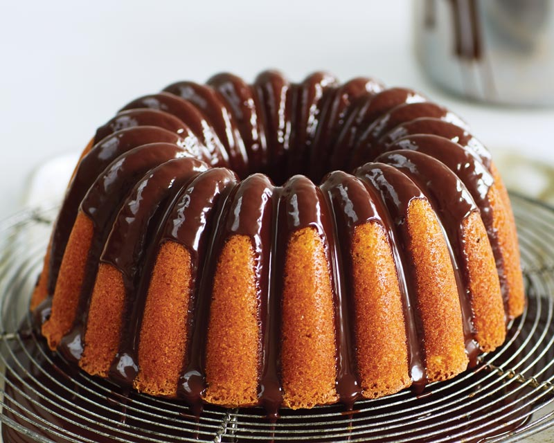 Edd Kimber's Passion Fruit and Chocolate Bundt Cake
