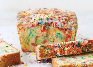 Rainbow Sprinkle Bread