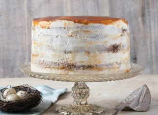 Six-Layer Sticky Toffee Pudding Cake