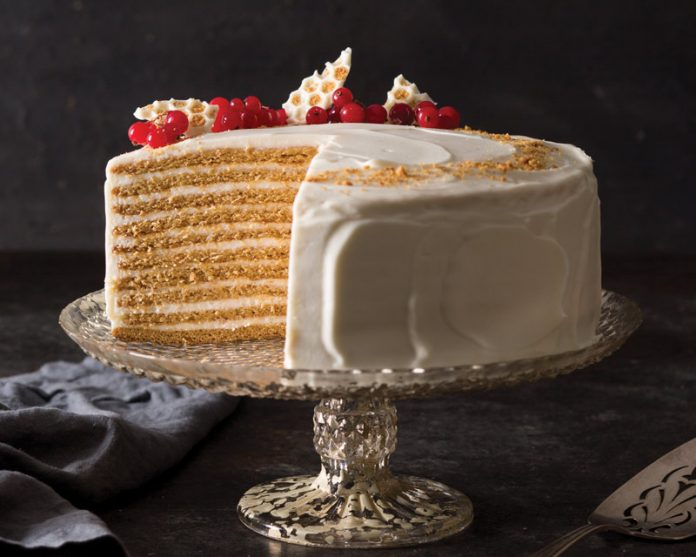 10 Layer Ed Russian Honey Cake